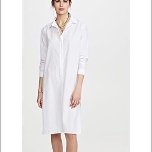 COS White Casual Shirt Cotton Dress Size 44/L